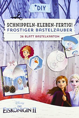 kiDIYs -Schnippeln-Kleben-Fertig! Die Eiskönigin 2: 26 Blatt Bastelkarton