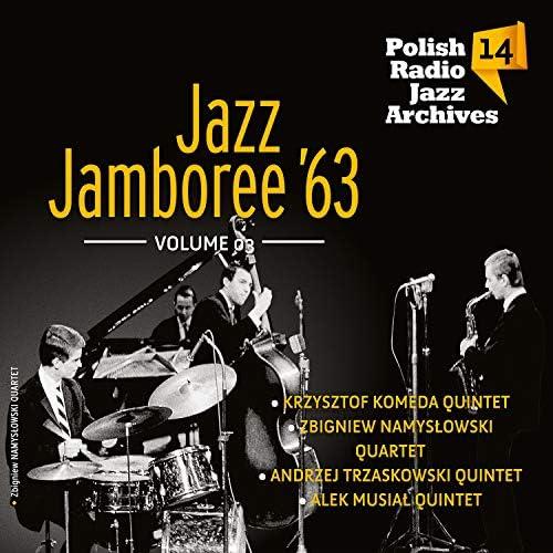 The Andrzej Trzaskowski Quintet, Krzysztof Komeda Quintet, Zbigniew Namysłowski Quartet & Alek Musiał Quintet