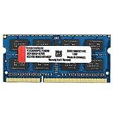 8GB DDR3 DDR3L 1600MHz SODIMM RAM PC3 12800S CL11 204Pins 1.35V Non-ECC Unbuffered Laptop Memory (Blue)
