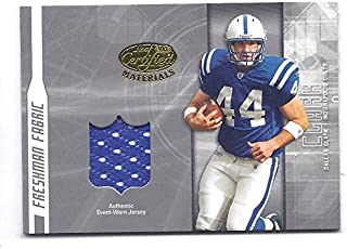 DALLAS CLARK 2003 Leaf Certified Materials #174 JERSEY ROOKIE Card RC Only 1250 Made! Indianapolis Colts Football