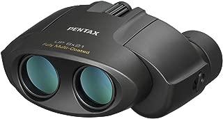 PENTAX 双眼鏡 UP 8x21 ブラック 小型軽量 フルマルチコーティング 高級プリズムBak4搭載 (8倍) フェス ライブ コンサート スポーツ観戦 メーカー保証1年 ペンタックス 61801