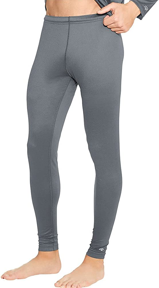 Duofold KMC2 Men's Mid Weight Varitherm Thermal Pant Smoked Pearl 5 Pack