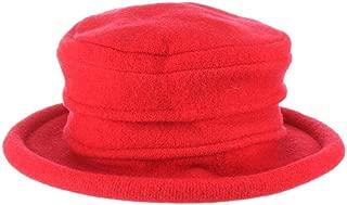 Scala Women's Packable Boiled Wool Cloche