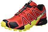 Salomon Speedcross 4, Zapatillas de Trail Running para Hombre, Rojo (Radiant Red/Black/Corona Yellow), 42 2/3 EU