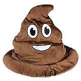Kicko Poop Emoji Hat - 12 Inch Emoticon Poop...