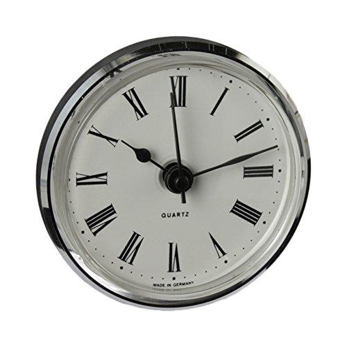 Cloxinelle Uhrwerk | Einsteckuhrwerk | Einbau-Uhr | Modellbau-Uhr | Quartz Uhrwerk | Ø 66 mm | Nr.8075