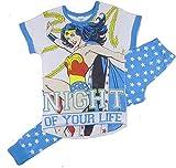 Conjunto de pijama de Harry Potter con escudo de Hogwarts para mujer Mujer Maravilla - Noche de su vida 40