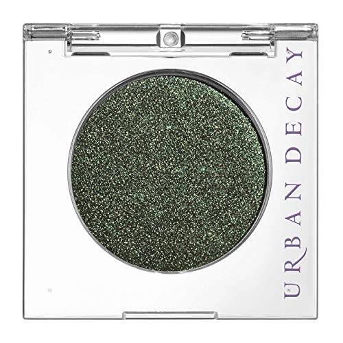 Urban Decay 24/7 Eyeshadow Compact, Psych - Warm Green Metallic with Gold Microglitter - Ultra-Blendable - Rich, Vegan Color with Velvety Texture - Up to 12-Hour Wear