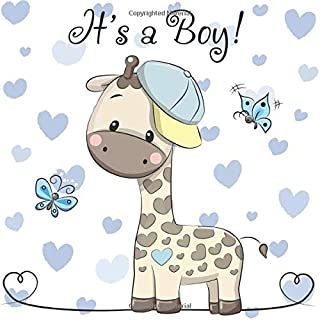 Baby Shower Guest Book - It's a Boy!: Baby Shower Autograph Book.  Baby Shower Guest Book Boy.  Baby Shower Guest Book Keepsake.