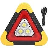 Señal de advertencia triangular Señal triangular LED Luz de trabajo Lámpara de emergencia Señal...