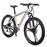 Eurobike 29in X9 3 Spoke Mountain Bike 21 Speed (Silver)