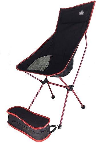 Chaise pliante extérieure, chaise de voyage en aluminium de camping pliable portatif de pêche tabouret de randonnée tabouret de siège de sac à dos, Léger en plein air