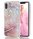 BSLVWG Compatible with iphone XS Max Case Ultra-Thin Marble