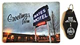 Bates Motel Key Chain and Greetings Post Card
