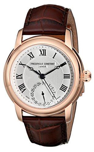 Frederique Constant FC-710MC4H4 Maxime Reloj de Correa de Cuero marrón Oscuro para Hombre
