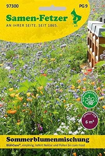 Sommerblumenmischung BlühOase 6 m², Blumenwiese
