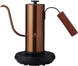 APIX(アピックス) 温度調節機能付き電気カフェケトル 0.4L カッパー FSKK-0929 CP
