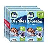 Huggies DryNites Boy hochabsorbierende Pyjamahosen Unterhosen für Jungen 4-7 Jahre, 2 Pack (2 x 3 x 10 Windeln) - 2