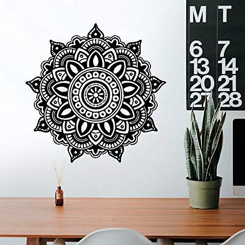 Flache Aufkleber Mandala Mandala Wandaufkleber Möbel Dekoration Wandaufkleber Mobilheim Dekoration Kreativer Schmuck A8 57x57cm