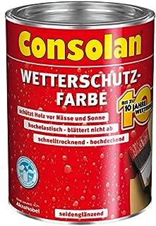 CONSOLAN Wetterschutzfarbe Dunkelbraun 5l - 5087488