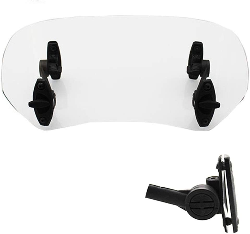 Universal Manufacturer direct delivery Fixed price for sale Motorcycle Windshield Extension Adjustable Cla Spoiler