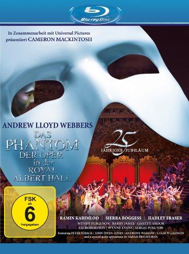 Das Phantom der Oper - 25jähriges Jubiläum [Blu-ray]