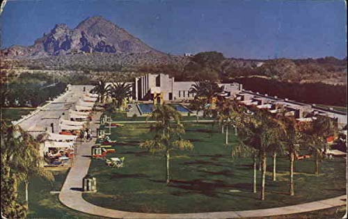 Arizona Biltmore Hotel Swimming Pool and Cabanas Phoenix AZ Original Vintage Postcard