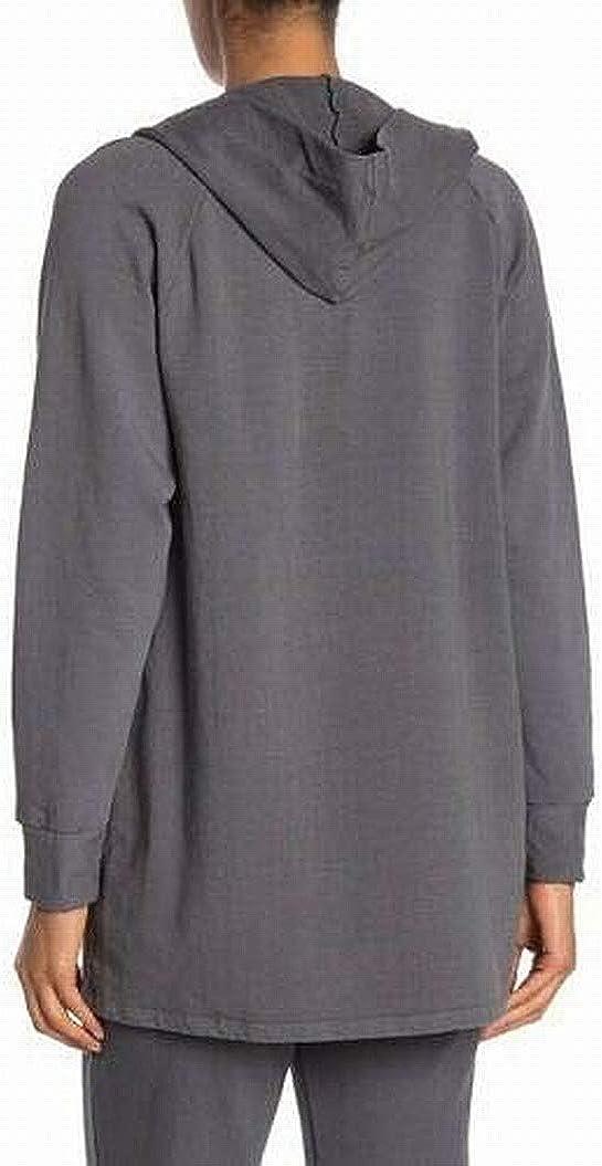 Stateside Hooded Cardigan Gray XS