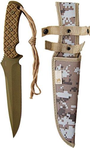 Nerd Clear Irakisches Irak Fallschirmspringer Messer Gürtelmesser