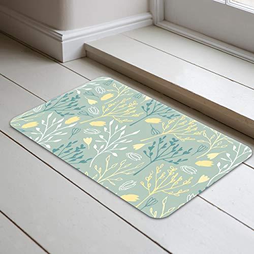 Bonamaison Alfombrillas de baño, Polyester, Multicolor, 40x70 Cm