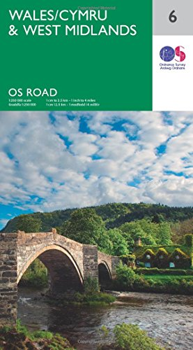 Price comparison product image Wales & West Midlands (OS Road 6)