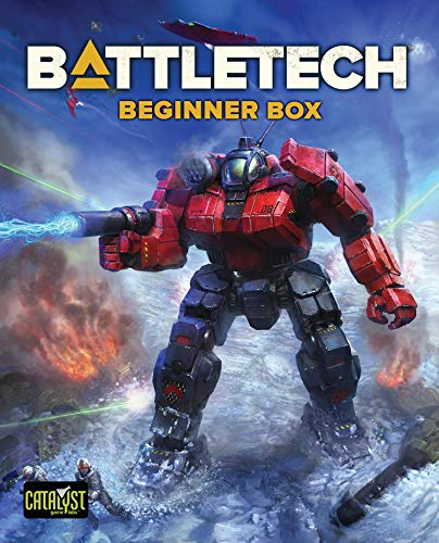 Catalyst Games - BattleTech Beginner Box - Miniatures Game / Board Game - English Edition