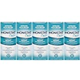 Monistat Care Maximum Strength Instant Itch Relief Cream, 1 Ounce each (Value Pack of 5)