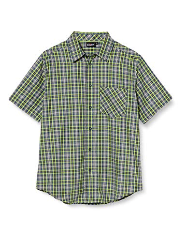 CMP Short-Sleeved Shirt with Pocket, Camicia Uomo, Energy-Cosmo, 48