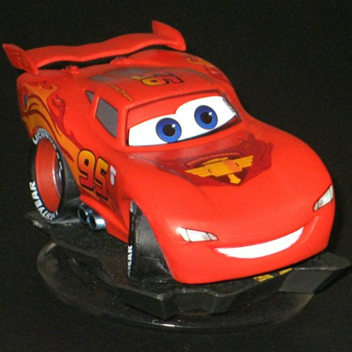 Disney Infinity RED Lightning McQueen figure only (no retail packaging) by Disney Interactive Studios