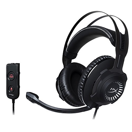 HyperX HX-HSCRS-GM Cloud Revolver S Dolby Surround 7.1 - Casque Gaming pour PC/PS4/Mac