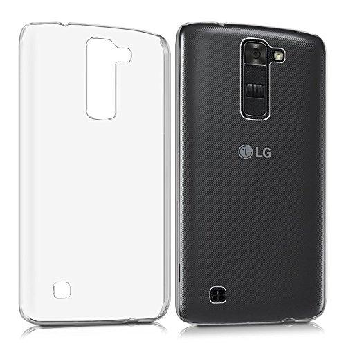 REY Funda Carcasa Gel Transparente para LG K7, Ultra Fina 0,33mm, Silicona TPU de Alta Resistencia y...