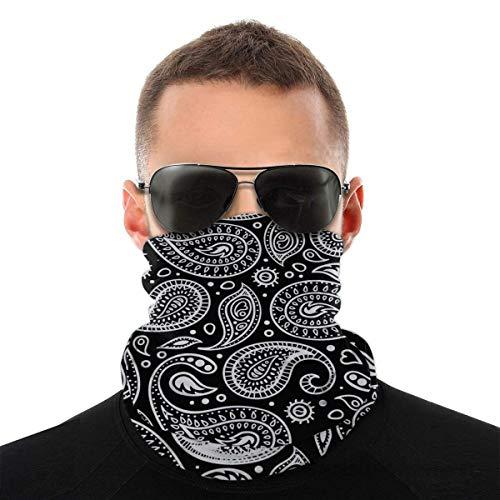 Bandana máscara facial con estampado de cachemira, polainas para el cuello, unisex, variedad de bufandas para la cabeza, bufandas para el sudor