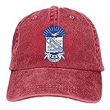 Lsjuee Phi Beta Sigma Fraternity Clásico Retro Sombrero de Vaquero Gorra de béisbol Sombrero Ajustable para Exteriores