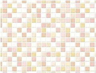 明和图形 地板保护垫 粉色 约45cm×120cm