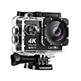CamGo 4K 16MP WiFi HD Underwater Waterproof Camera 30M Sports Camcorder with 170°