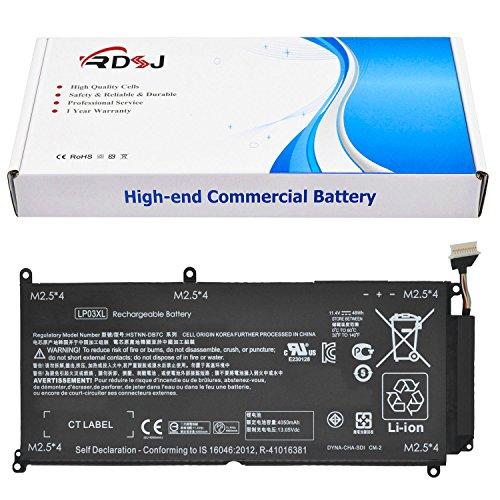 LP03XL Battery Compatible HP Envy 15-ae000 15-ae100 M6-P113Dx M6-P Series LP03048XL HSTNN-DB6X HSTNN-DB7C HSTNN-UB6R TPN-C121 C122 TPN-C124 804072-241 807211-121 221 807211-241 807417-005 11.4V 48Wh