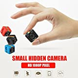 ET SQ11 Micro Camera HD 1080P DV Mini Sport Camera Car DVR Full HD DVR Recorder IR Night Vision Loop Recording (Red)
