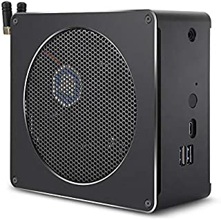 Hshaojin Mini PC for Intel Core 8th Gen i7-8750H 4G + 128G Six Core 2.2-4.1GHz, with Fan & Antenna, Support Bluetooth 4.2...