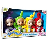 Teletubbies Sammlerstuck Super Soft Pluschtiere Full Set