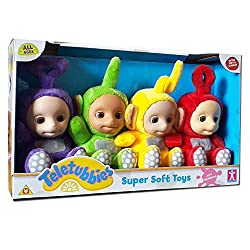 Super Soft All 4 Teletubbies Suitable For All Ages