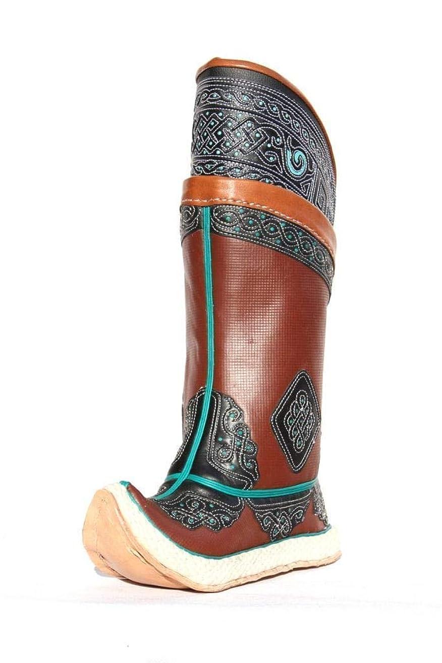 Double Felt Sole Handmade Boots 32 Pattern