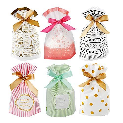 zedela Geschenkbeutel mit Kordelzug, 30 stücke Goody Bags Set, Bunt Geschenktüten und Candy Tüten für Hochzeit,Familientreffen,Weihnachten Gift Bags Candy Tüten