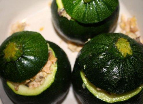Squash d'été Courgette ronde fraîche 25 graines Heirloom non OGM