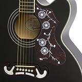 Immagine 1 epiphone eej2bkgh1 ej 200sce chitarra